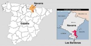 region bardenas en espagne